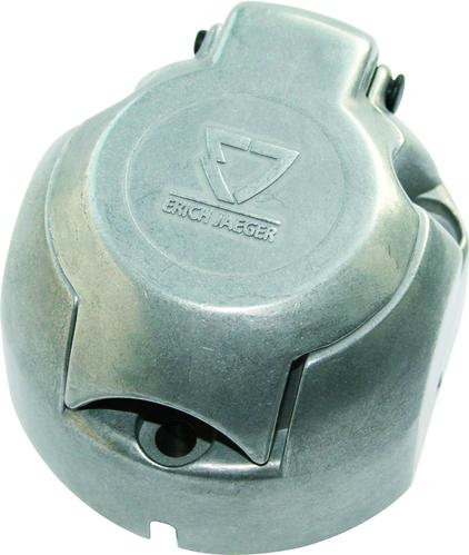 Enchufe 7 clavijas hembra metal alum jaeger