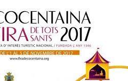 FERIA COCENTAINA 2017 del 1 al 5 de Noviembre…novedades en GOLDONI…